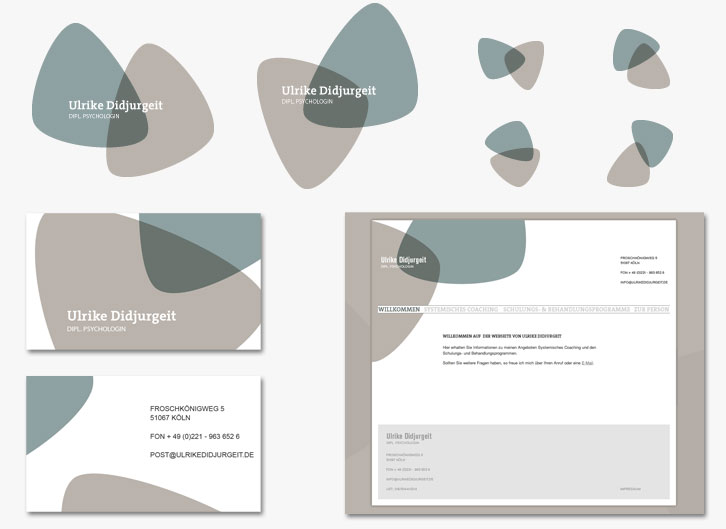 Corporate Design für Ulrike Didjurgeit